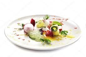 cuisine moliculaire salade de légumes de la cuisine moléculaire photographie jyliana