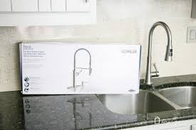 new kitchen faucet new kitchen faucet out w the leaky in w the pretty designer