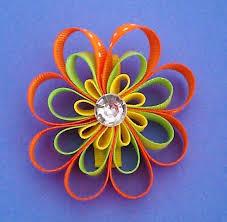 flower bow flower hair bow flower hair bows flower