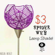 spider web lamp shade or super sized bowl muslin and merlot