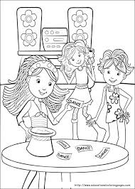 groovy girls coloring pages free kids