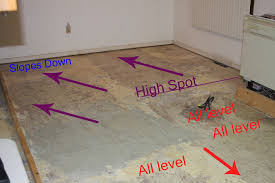 level floor stalled out with subfloor level archive ceramic tile advice