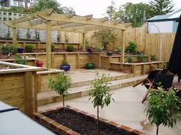 Sloped Backyard Ideas Pool Designs Sloping Backyards Pictures Of Pools On A Slope Photo