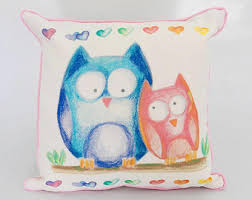 Owl Pictures For Kids Room by Kids Bed Etsy