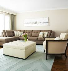 Fascinating  Living Room Furniture With Ottoman Design - Small leather sofas for small rooms 2