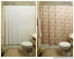 how to personalize your bathroom with a diy shower curtain u2013 the