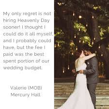 Our Wedding Planner Heavenly Day Events Rave Reviews