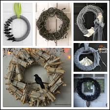 how to make halloween wreaths