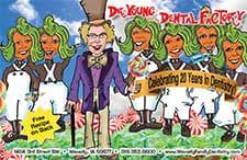 dental marketing caricature cards pos inc