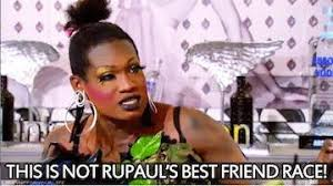 Drag Racing Meme - too glam to give a damn ru viewing rupaul s drag race all stars