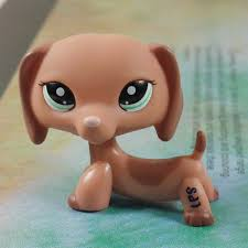 brown collection lps collection 2046 figure brown dachshund littlest pet shop