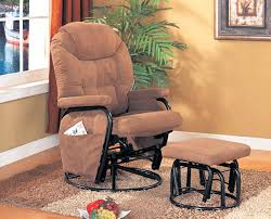 coaster chenille glider and ottoman in chocolate coaster chenille glider and ottoman in chocolate letsconnect me