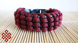 bracelet knots paracord images How to make the track knot paracord bracelet tutorial jpg