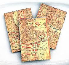 Paper Maps Craft Project London Map Decor Diy The Graphics Fairy