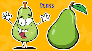 english fruit rhymes cartoon for kids pears fruit song juniors