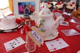 disney alice in wonderland diy tea party decor disneyexaminer