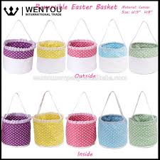easter buckets wholesale canvas easter canvas easter suppliers and