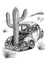 volkswagen beetle drawings fine art america