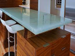 Glass Kitchen Countertops Kitchen Room 2017 Awesome White Brown Wood Glass Stainless