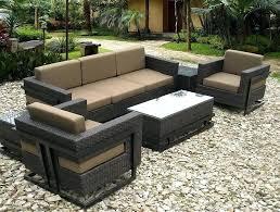 fresh sams outdoor furniture and metro 6 piece seating group 72 sam