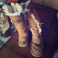 ugg elsa sale 46 ugg shoes sale limited lace up uggs w tribal