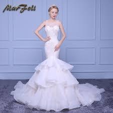 robe de mari e sirene haut de gamme de perles sirène robes de mariée 2017 chagne
