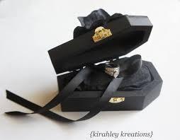 coffin ring wood coffin ring bearer box wedding ceremony ring pillow til