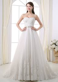 a line wedding dress 249 99 gorgeous tulle sweetheart neckline a line wedding dress