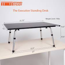 Executive Stand Up Desk by Executive Stand Steady Standing Desk Stand Up Desk Converter