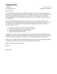 cover letter for accounting internship with no experience 6728