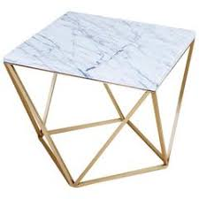 Marble Accent Table Lunar Full Moon Marble And Brass Side Table For Sale At 1stdibs