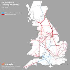 England Train Map by Justride Uk Rail Masabi