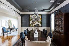 Tray Ceiling Dining Room - sky u0027s the limit on home ceiling options houston chronicle