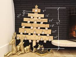 christmas extraordinary palletmas tree best wood crafts images