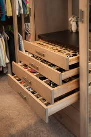 closet with extra small drawers perfect for jewelry and perfumes