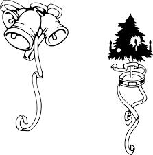 printable black and white christmas clip art 51