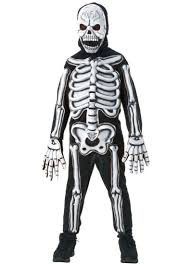 Skeleton Halloween Costume Kids 3d Glow In The Dark Skeleton Costume Rubies 882837 Walmart Com