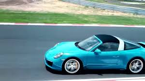miami blue porsche porsche 911 targa 4s miami blue driving video automototv youtube