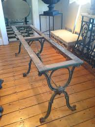 wrought iron dining room sets fabulous long french cast iron dining table dining room table