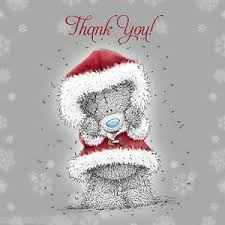 me to you tatty teddy thank you christmas cards xmas thanks pack