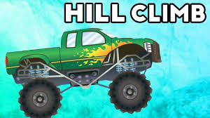 monster trucks kids video monster truck hill climb monster truck kids video youtube