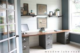Diy Desk Pipe by Industrial Pipe Shelves For The Office Meadow Lake Road
