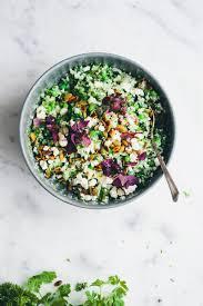 Green Kitchen Storeis - warm cauliflower couscous salad green kitchen stories irene test