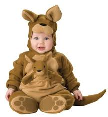 amazon com lil characters unisex baby infant roo costume