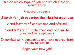 Job Application And Resume by Getting Your First Job