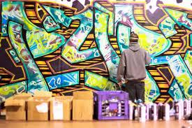 frankly green bay graffiti mural by beau thomas photo by audrey thomas