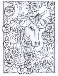 coloring pages of unicorns and fairies mythical creatures coloring pages for adults free download best
