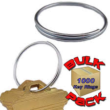 wire key rings images Plain wire key ring 1 inch bulk pack jpg