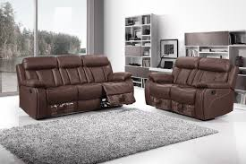 Black Leather Sofa Recliner Recliner Loveseat With Console Lazy Boy Reclining Sofa