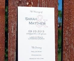 Tea Length Wedding Program 60 Best Wedding Programs Images On Pinterest Wedding Programs